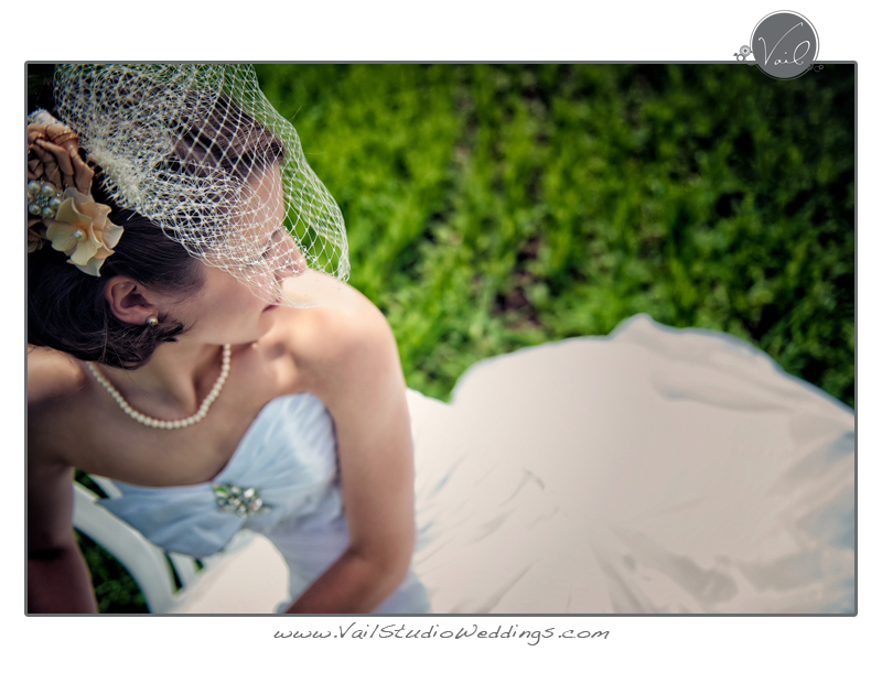 Whidbey Island Wedding portrait of a bride 7
