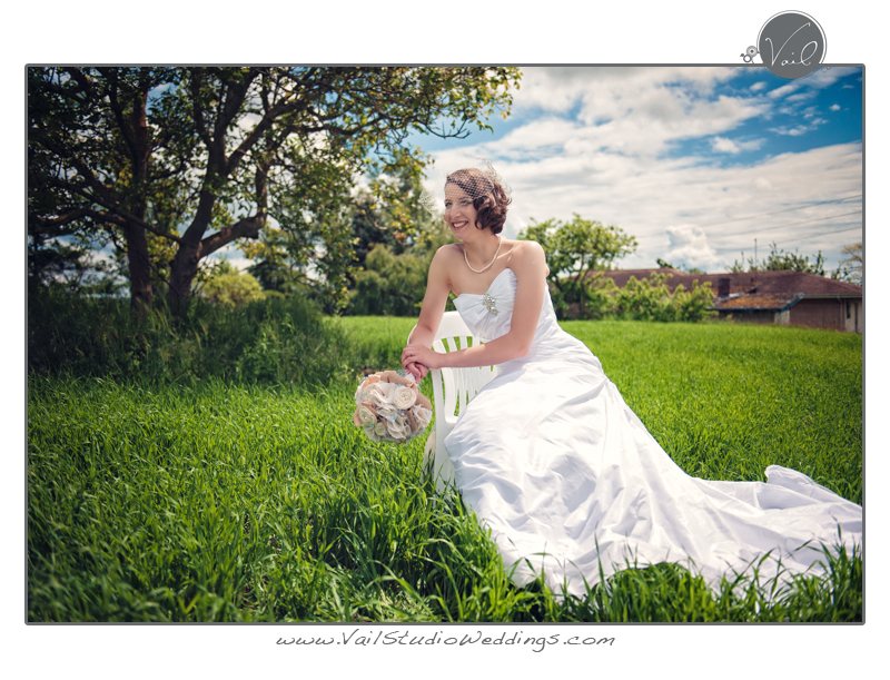 Whidbey Island Wedding portrait of a bride 8