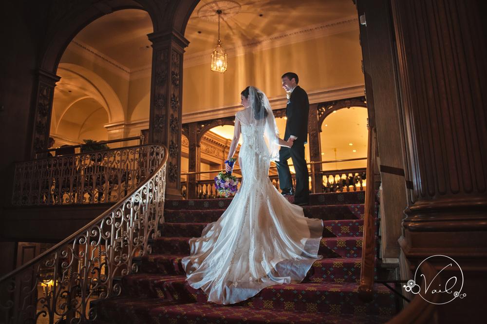 Fairmont Olypic Hotel Seattle Wedding Christmas 23