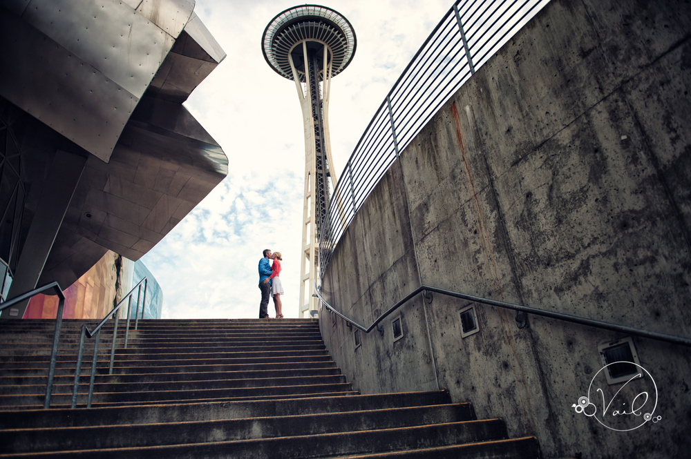 Seattle Enagement Photography kerry park pike place seattle center space needle-23.jpg
