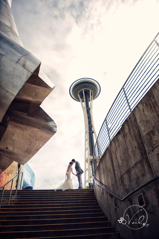 Seattle Aquarium, Seattle Center, The Great Wheel, Seattle Wedding day-35.jpg