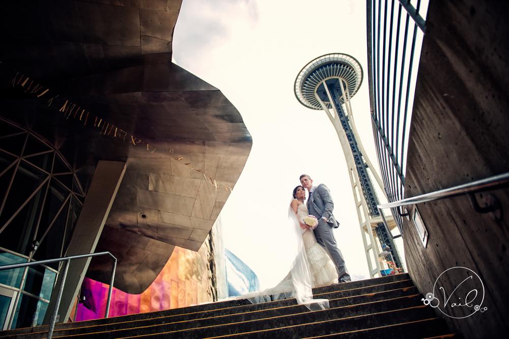 Seattle Aquarium, Seattle Center, The Great Wheel, Seattle Wedding day-36.jpg