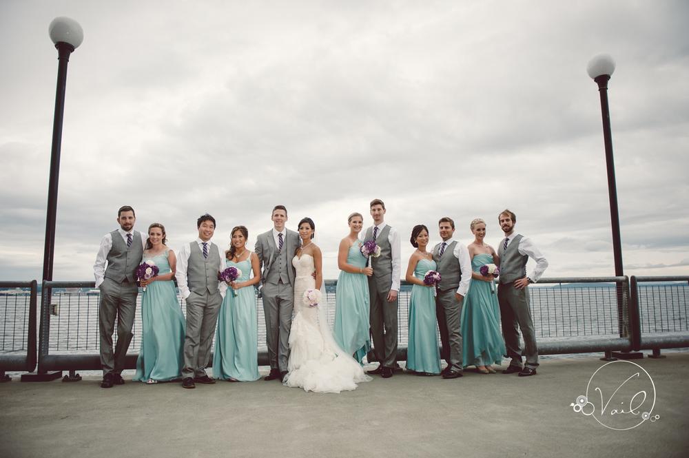 Seattle Aquarium, Seattle Center, The Great Wheel, Seattle Wedding day-46.jpg