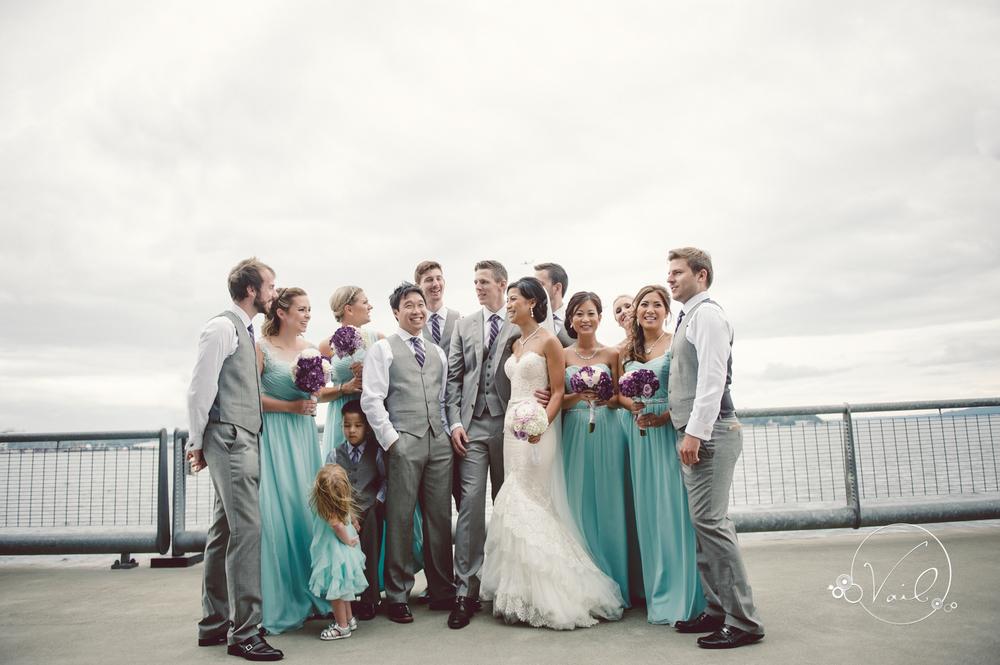 Seattle Aquarium, Seattle Center, The Great Wheel, Seattle Wedding day-48.jpg