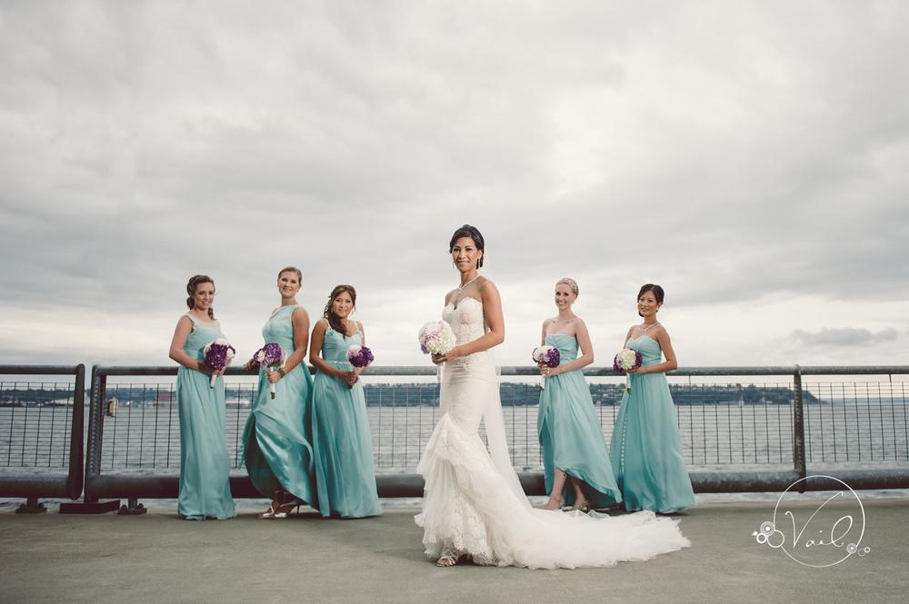 Seattle Aquarium, Seattle Center, The Great Wheel, Seattle Wedding day-49.jpg