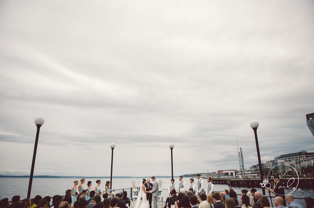 Seattle Aquarium, Seattle Center, The Great Wheel, Seattle Wedding day-66.jpg