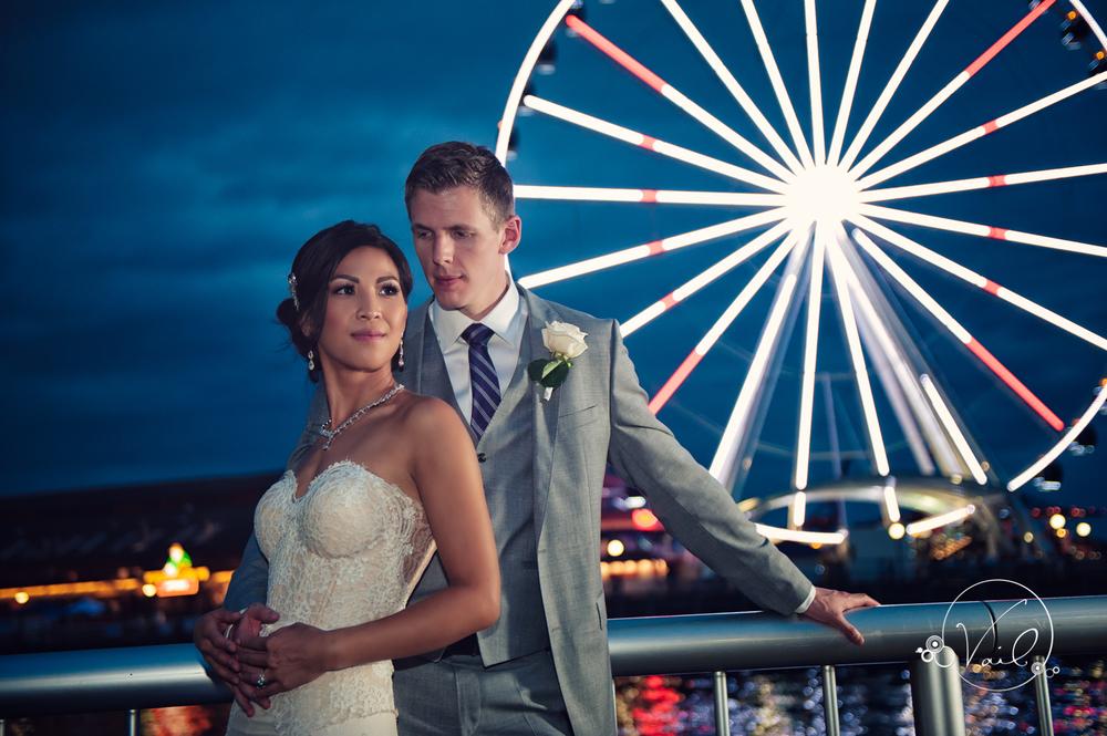 Seattle Aquarium, Seattle Center, The Great Wheel, Seattle Wedding day-88.jpg