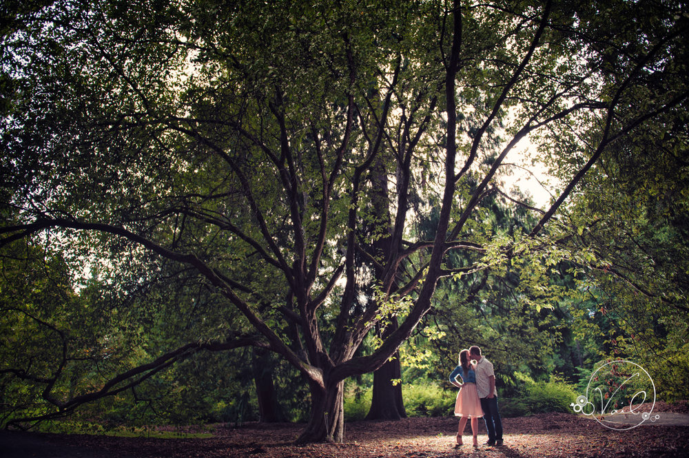 Washington Park Seattle Arboretum engagement session