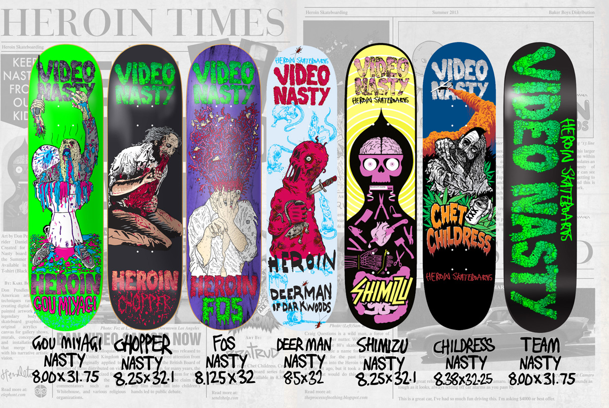 Heroin Nasty Boards page