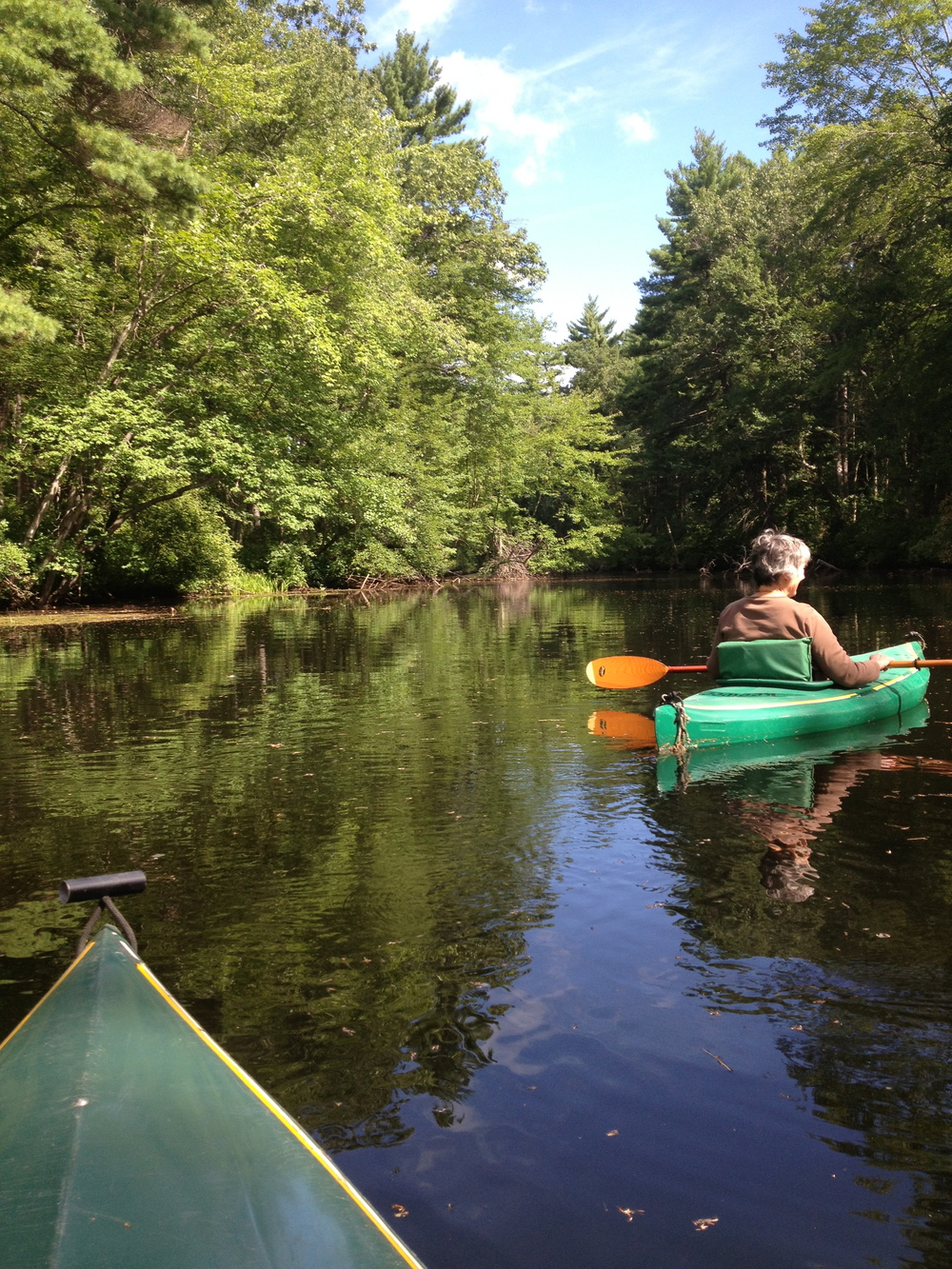 kayaking the nashua river