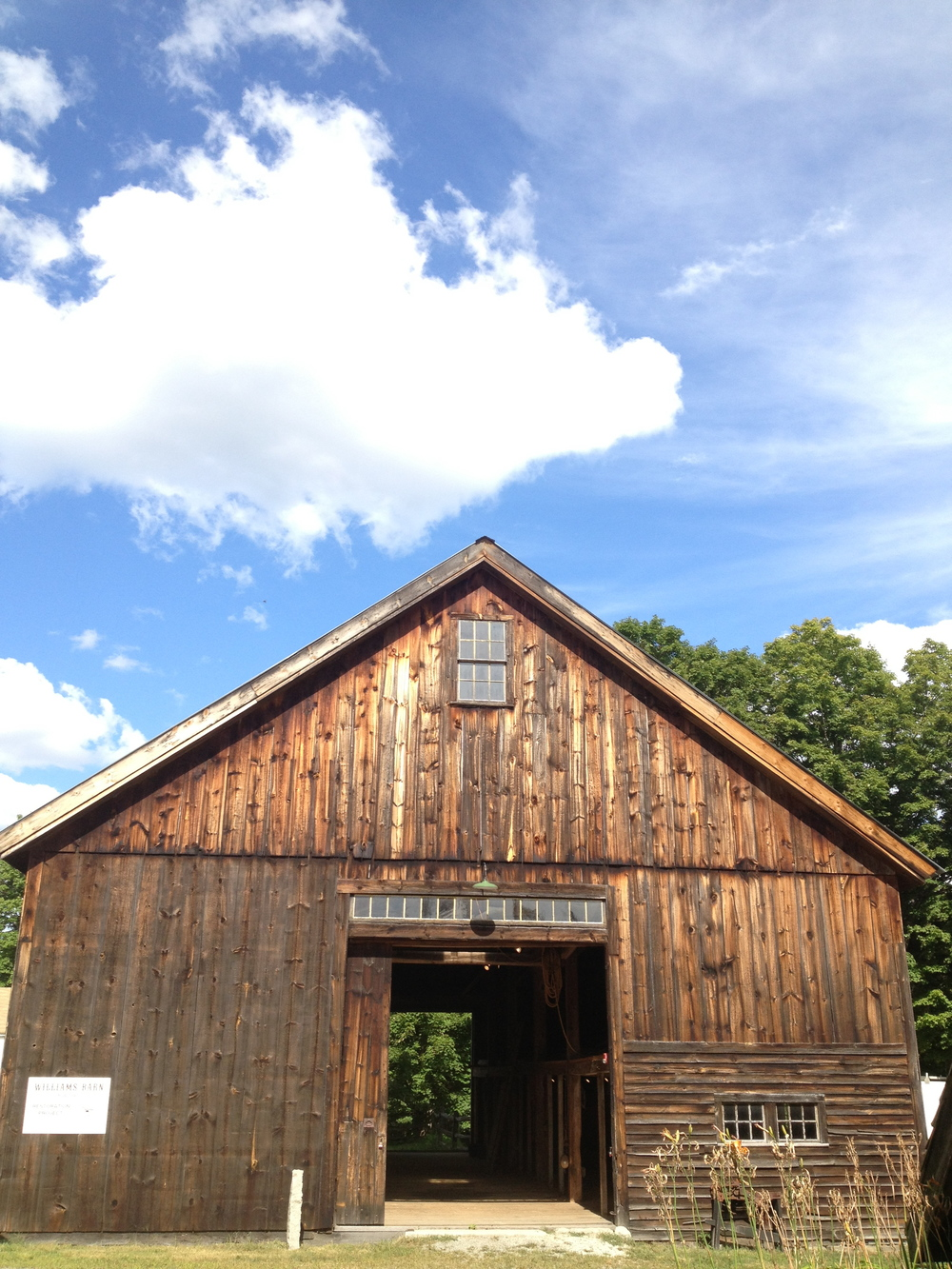 the williams barn