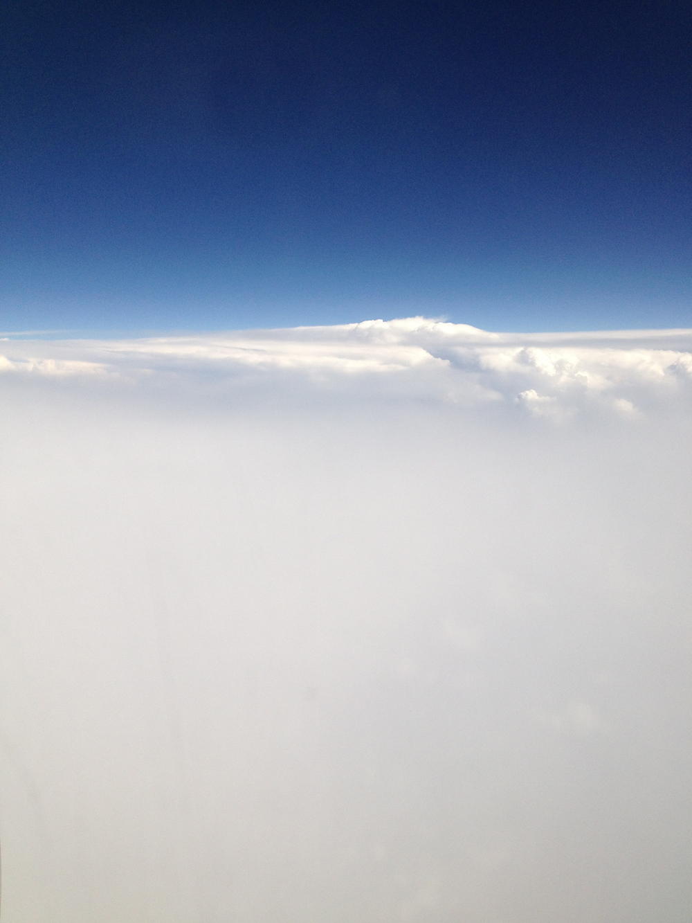 view from 30000 ft