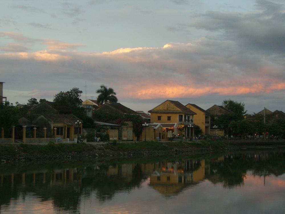 Hoi An at sunset