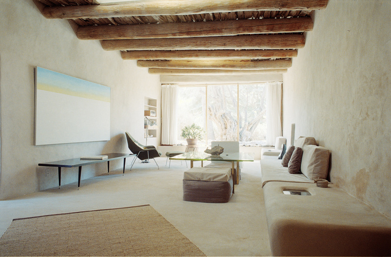 Georgia O'Keefe home tour, Abiquiu, New Mexico.