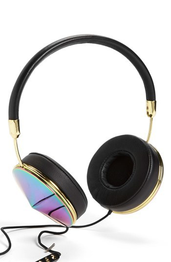 Frends gold headphones