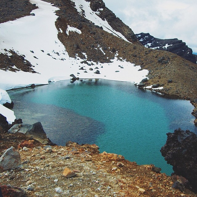 Emerald Lake, Tongariro Alpine Crossing, New Zealand