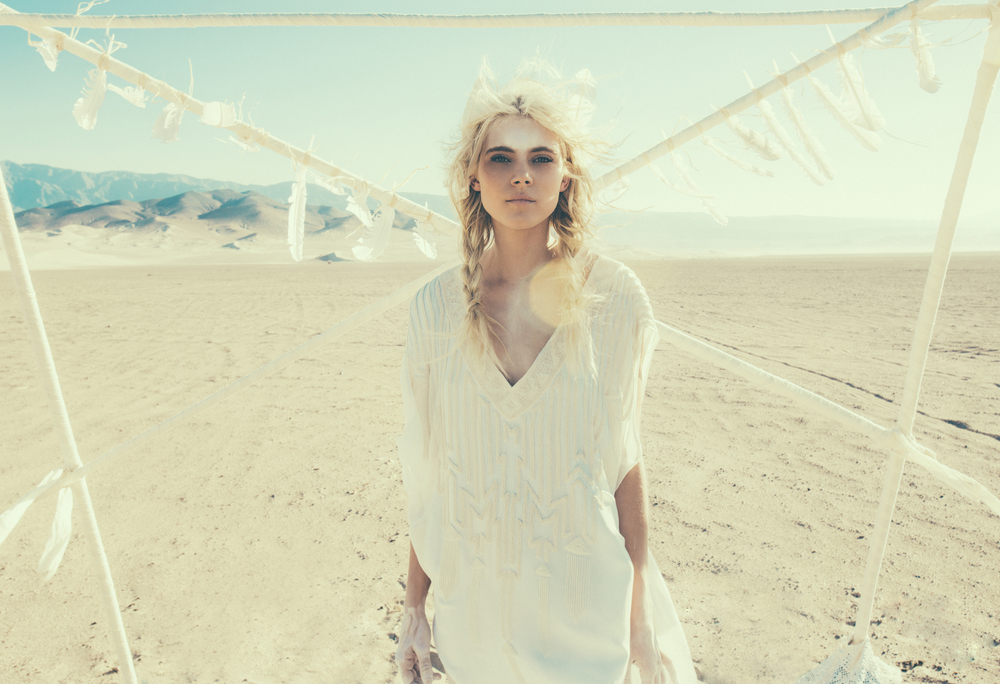 Bohemian Wedding Line By Mara Hoffman // Photos by Olivia Malone // The Weekend Edit
