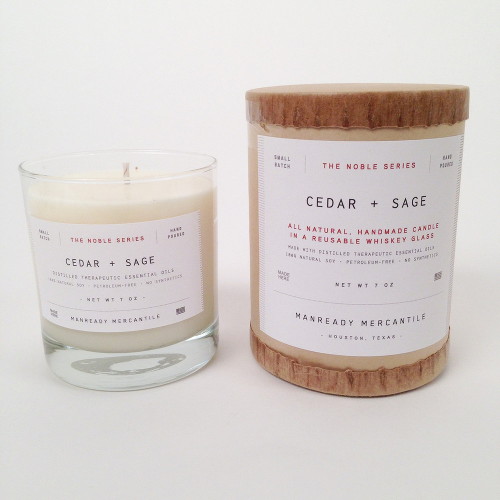Manready Mercantile Cedar and Sage Candle