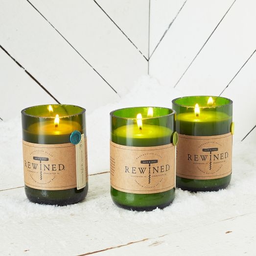 Rewind Candle, West Elm