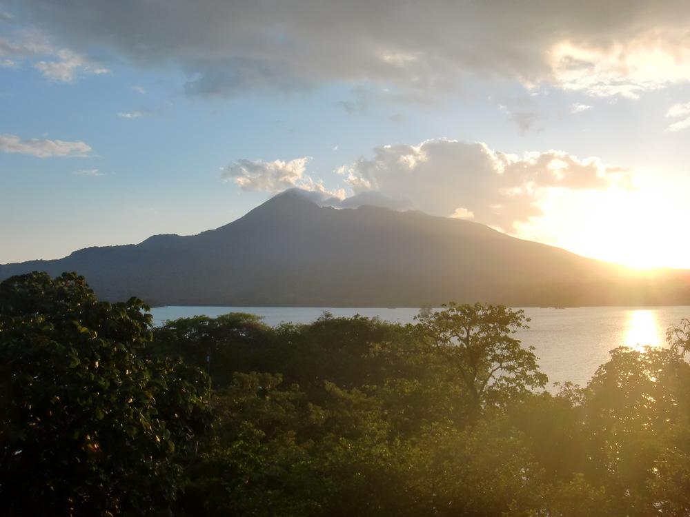 view from Jicaro Island Ecolodge
