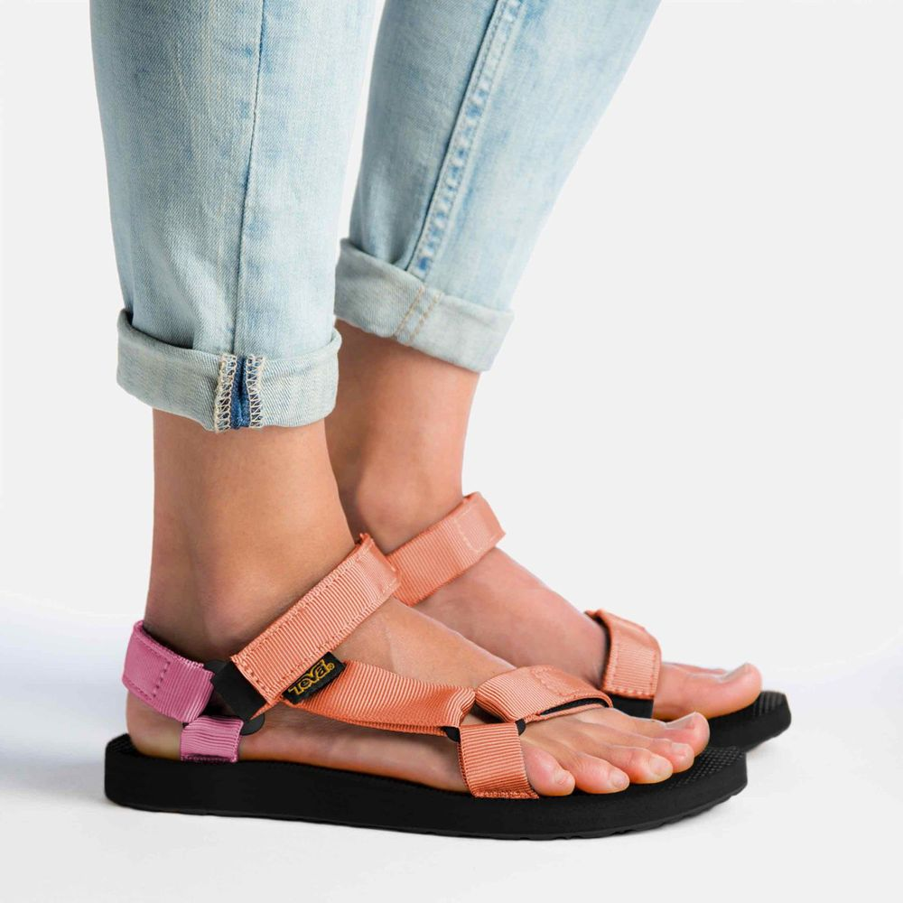womens-original-tevas-orange-pink