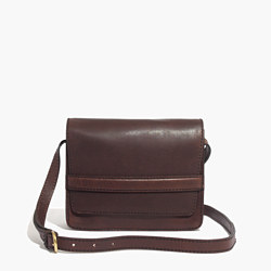 the leather albury crossbody bag