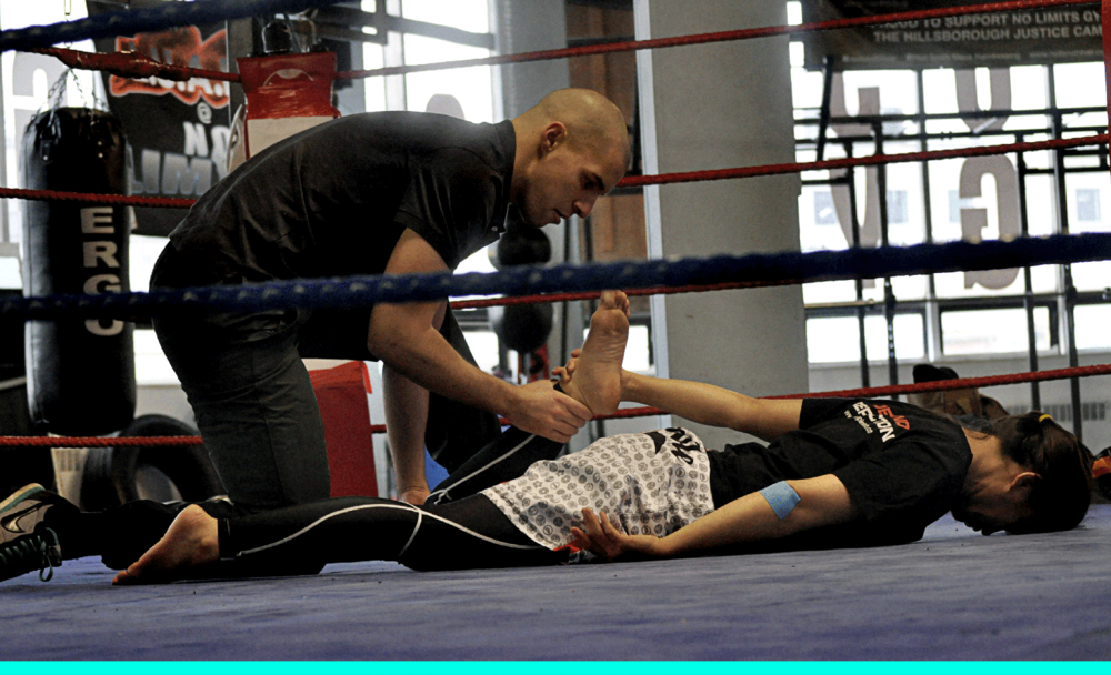 Sports injury rehab for mixed martial artists
