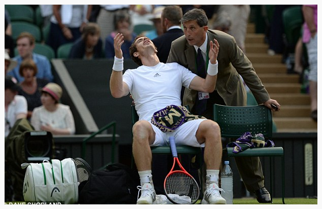 Can you recover your composure like Andy Murray did in his Wimbledon semi-final?