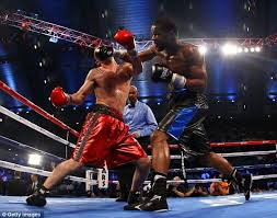 The foot you have more weight on when you receive a punch can make a massive impact on how much it damages you
