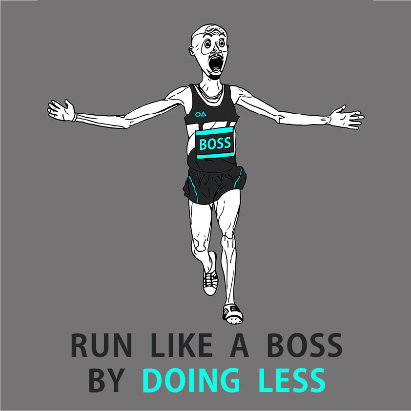 'Run like a boss by doing less' with Arton Baleci of floatsting.com to improve your 10k, half marathon, marathon and triathalon running
