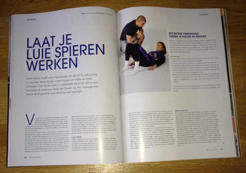 AS FEATURED IN BIT MAGAZINE