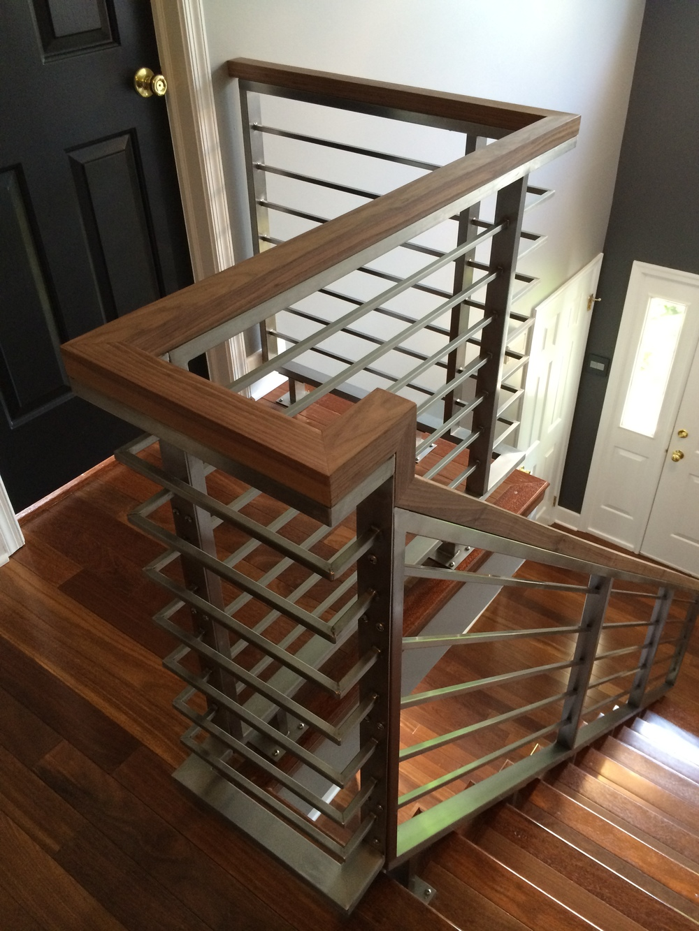 HORIZONTAL STAINLESS STEEL RAILING