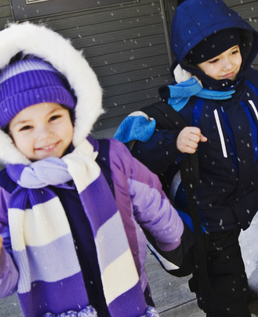 children can enjoy winter break in both parents households