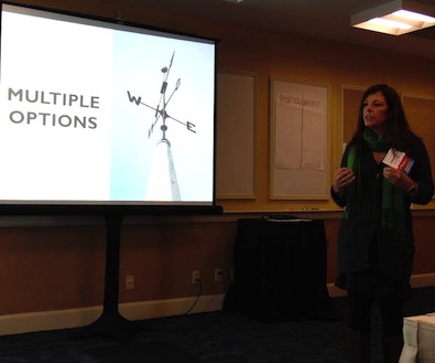 Last fall, I also participated in the VMN conference, conducting a workshop on evaluating interests during mediation.