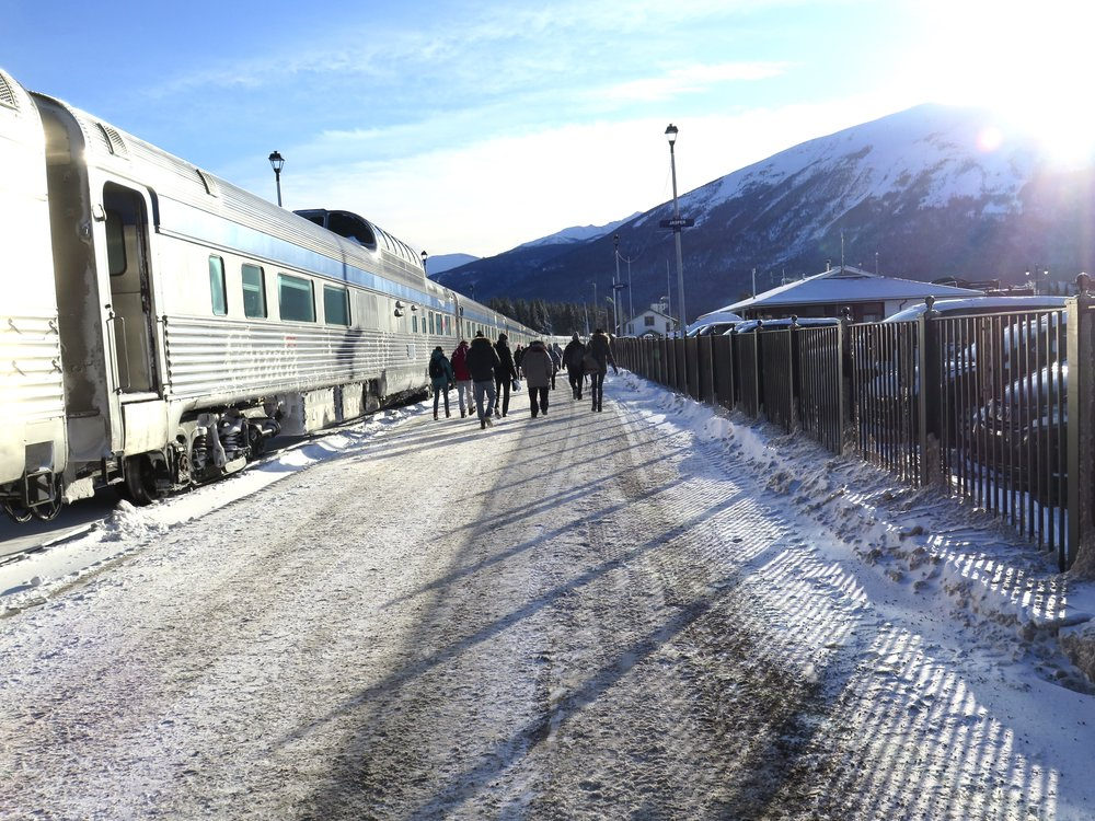 Here, we were boarding the train after the only significant stop from Toronto to Vancouver. Writer John R. Van Winkle compares litigation to a train ride, where you have very few opportunities to stop.