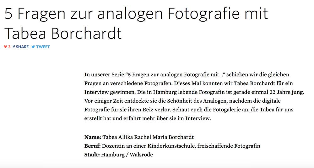 © Tabea Borchardt