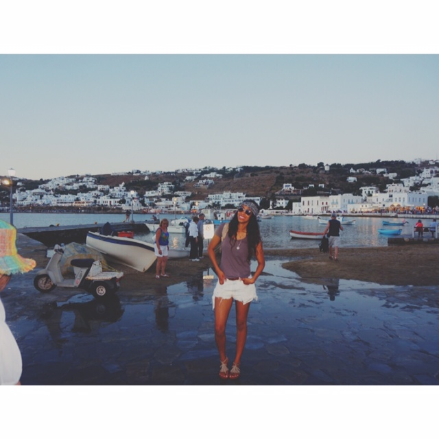 MYKONOS! #givingmelife