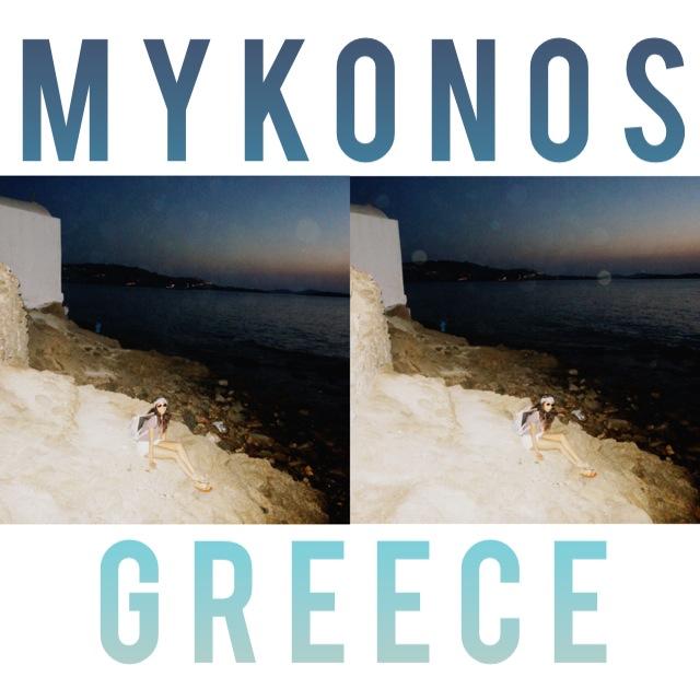 Flippin Mykonos! #takemeback