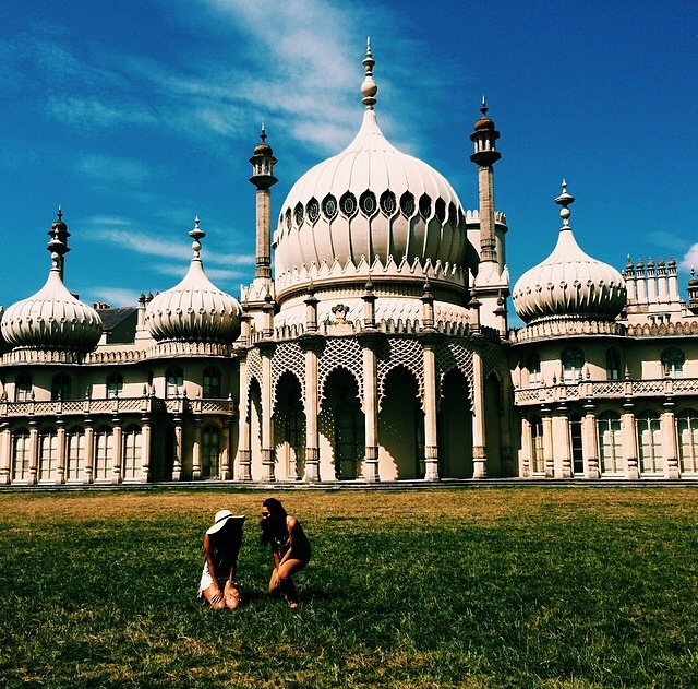 I absolutely love this picture. Brighton was fabulous.