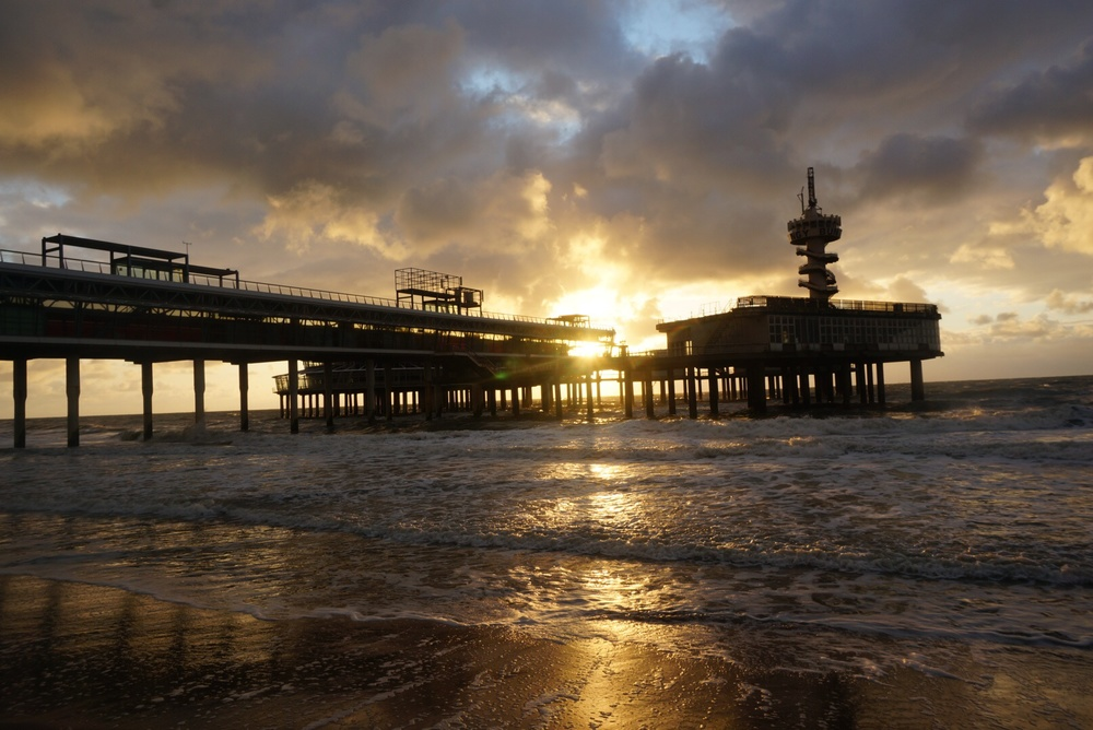 The North Sea. Still can't believe I took this picture.