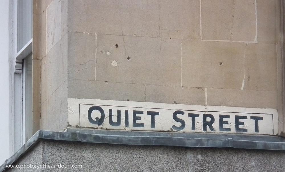 Quiet Street, Bath UK, 2011