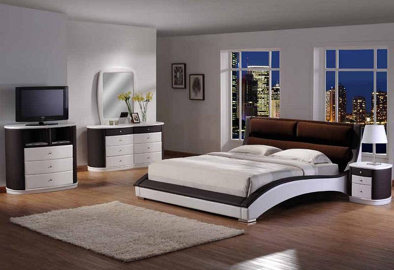 Contemporary Zenith Bedroom Set