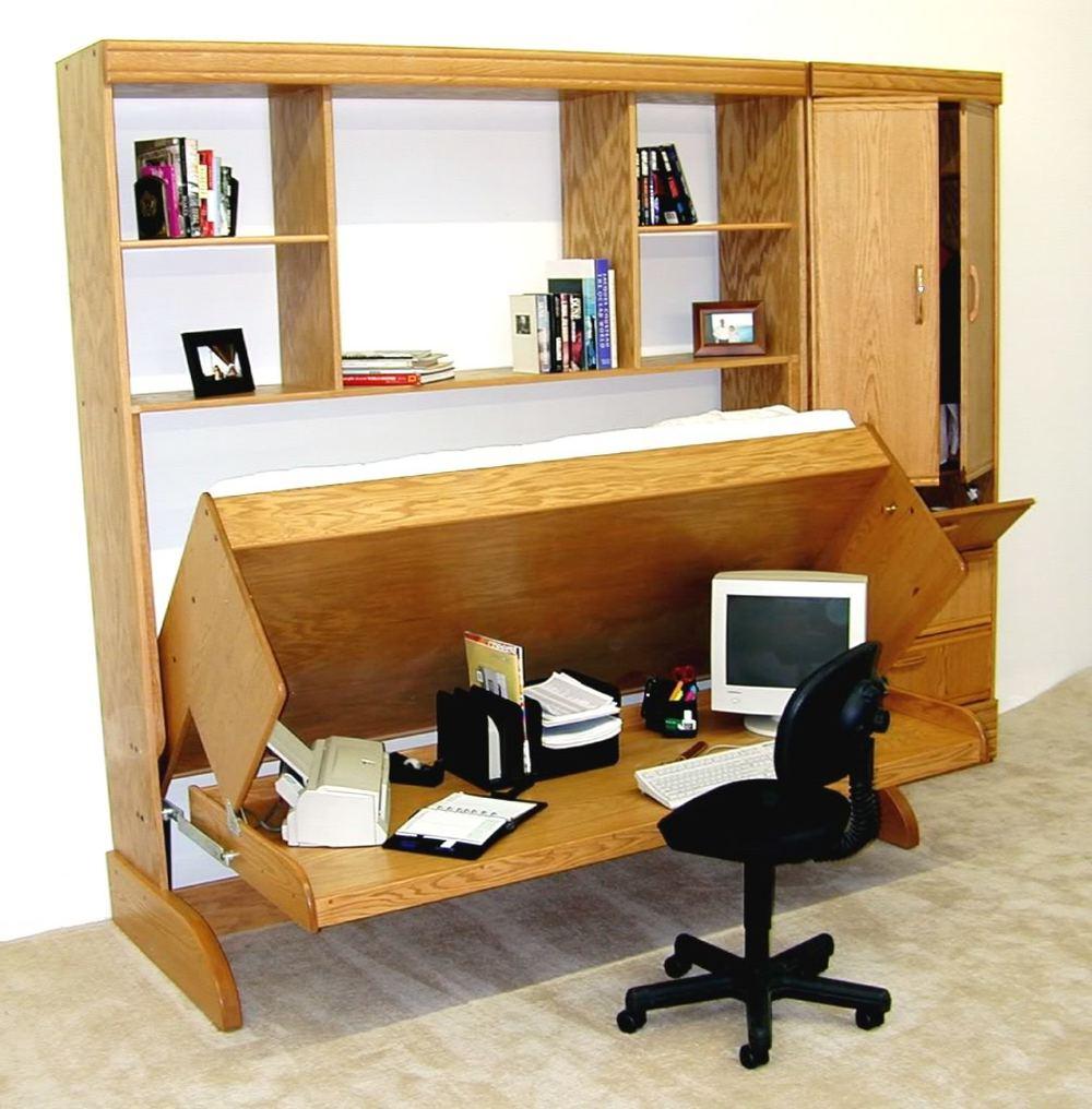 Convertible Desk Bed Office Chair That Folds Into Bed Schrankbett Selber Bauen