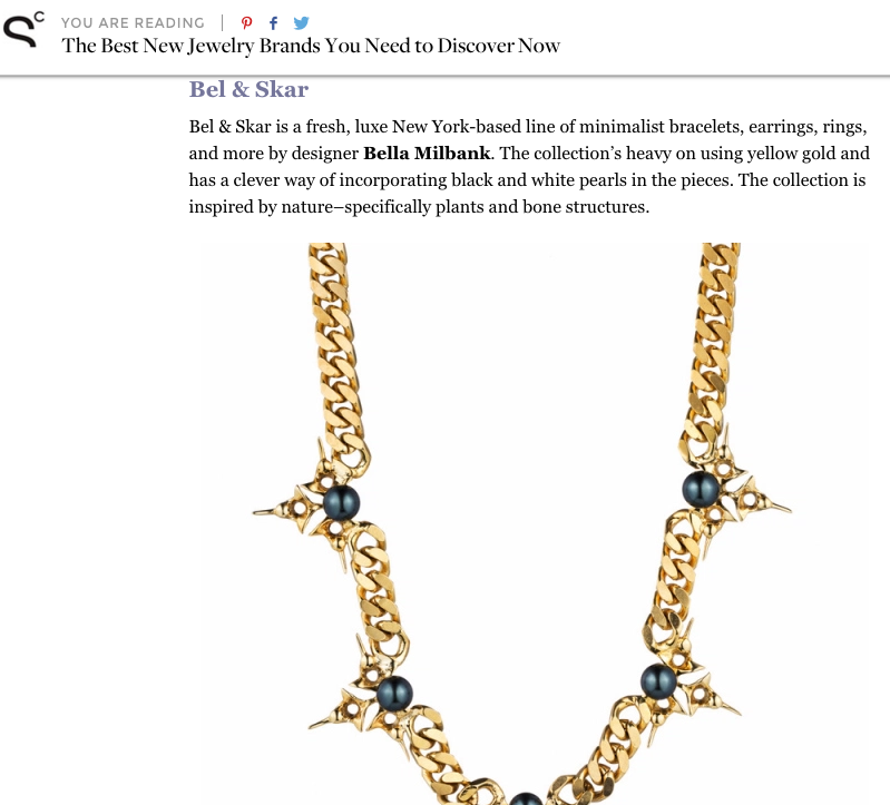 STYLE CASTER | BEST NEW JEWELRY DESIGNERS TO KNOW - SUMMER 2015