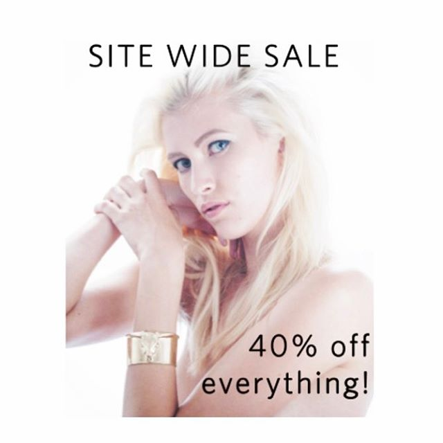 Happy spring 🌷🌸🌺🌹💐! Time to celebrate with our first ever site wide sale!! Get shopping with 40% off everything! #jewelrysale #jewelry #jewellery #blackdiamonds #diamonds