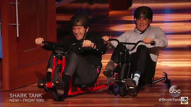 Who said sharks can't ride trikes? 🐬🚲 #tbt