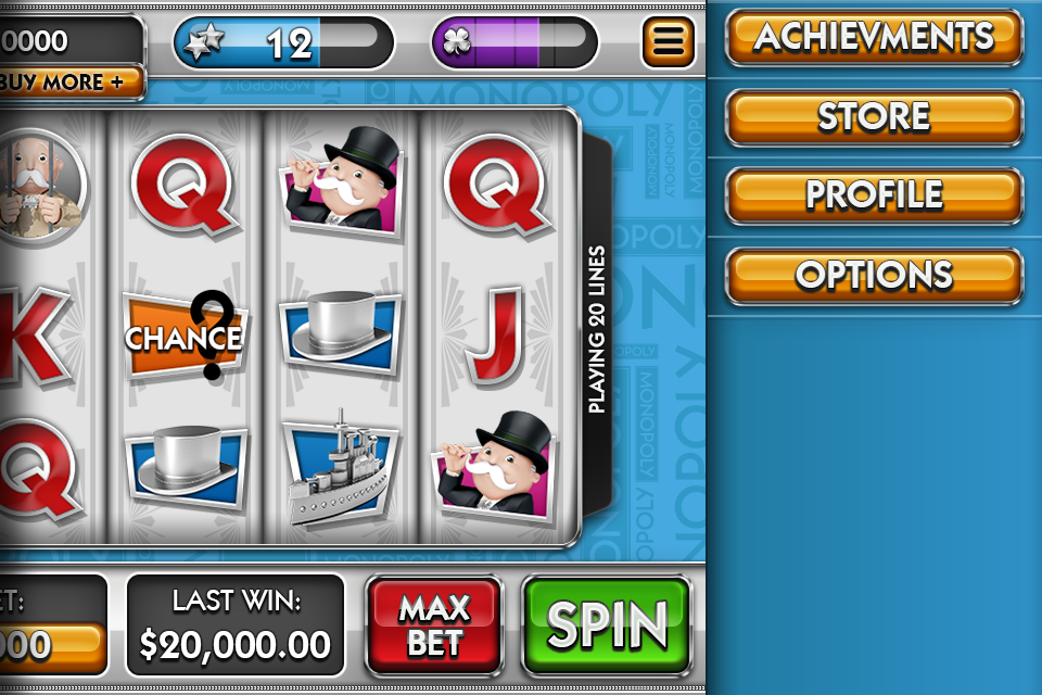 MONOPOLY SLOTS TRAY CONCEPT