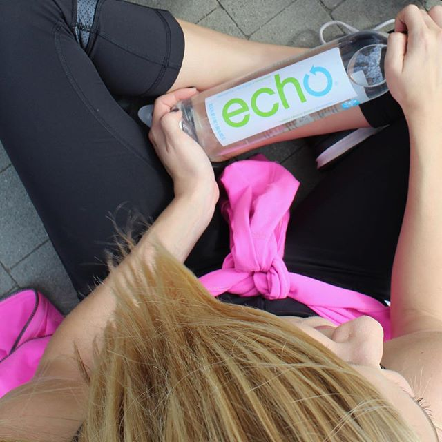 """Carry water with you everywhere. By the time you're thirsty, you're already dehydrated. The trick is to stay hydrated."" -@chalenejohnson #EchoTips #Rehydrate #Recharge #Rebalance"