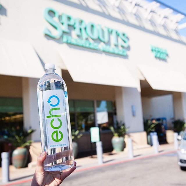 Hydration is waiting at your local @sprouts 💦 Snag some #EchoAlkalineWater this weekend!
