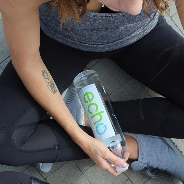 Still looking for a #newyearsresolution? Here's an easy one: RECYCLE! ♻️ Our Echo bottles are 100% recyclable, and made from up to 20% recycled material 🌎💦
